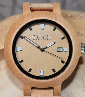 Bamboe Houten Dames Horloge met datum