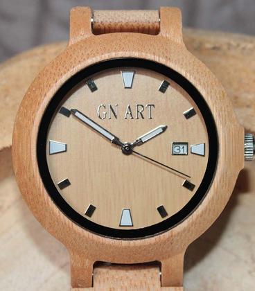 GN-Art Bamboe Houten Horloge