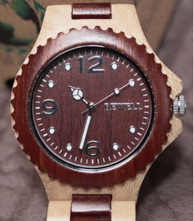 D16P Houten horloge