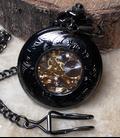 Vestzakhorloge 'Zon' met automatisch uurwerk