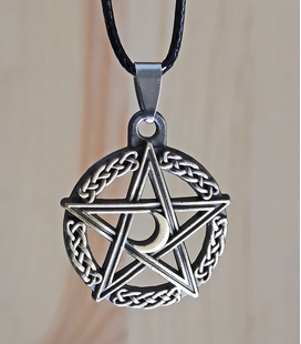 ketting celtic pentagram