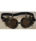 steampunk goggles met spikes
