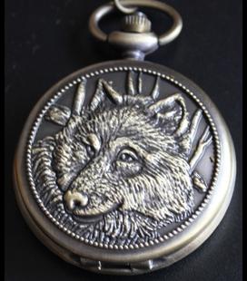 Vestzakhorloge wolf