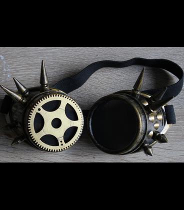 steampunk goggles met spikes vintage