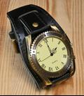 Steampunk Horloge Zwart
