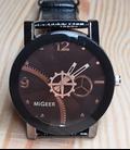 Steampunk Horloge seconde rader draaid mee