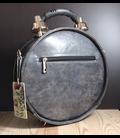 Steampunk klok-tas, rood