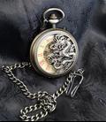 Vestzakhorloge met mechanisch uurwerk 'Draak'