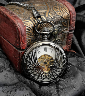 Vestzakhorloge met mechanisch uurwerk 'Eagle'