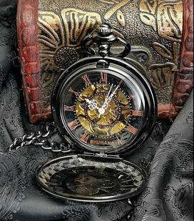 Vestzakhorloge met automatisch uurwerk