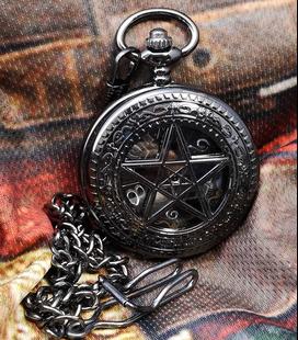 Vestzakhorloge met mechanisch uurwerk 'Pentagram'