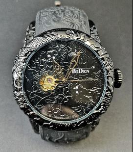 Drakenhorloge met automatisch uurwerk
