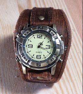 Steampunk Horloge Bruin (2)