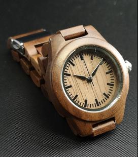 Notenhouten Dames Horloge