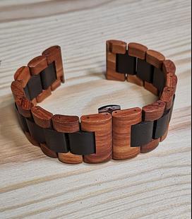 2-kleurige horlogeband 22 mm