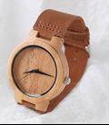 poes Houten horloge