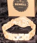 Bewell Houten horloge