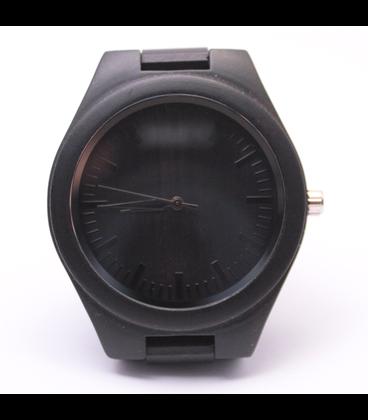 Zwart-Houten horloge