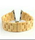 24mm Bamboe houten Apple watch horlogeband voor 42 mm I-Watch