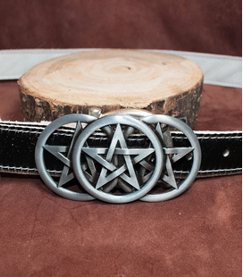 buckles metaal 3 pentagram